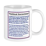 PC is a threat to your freedom. Mug