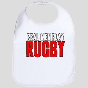 Real Men Play Rugby Bib