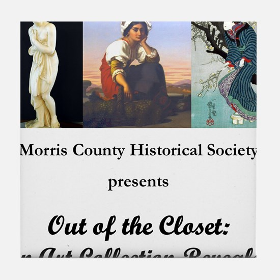"""""""Out of the Closet"""" Official Tile Coaster"""