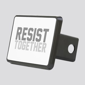 Refugees Welcome Rectangular Hitch Cover