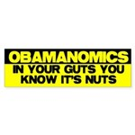 Obamanomics Bumper Sticker (50 pk)