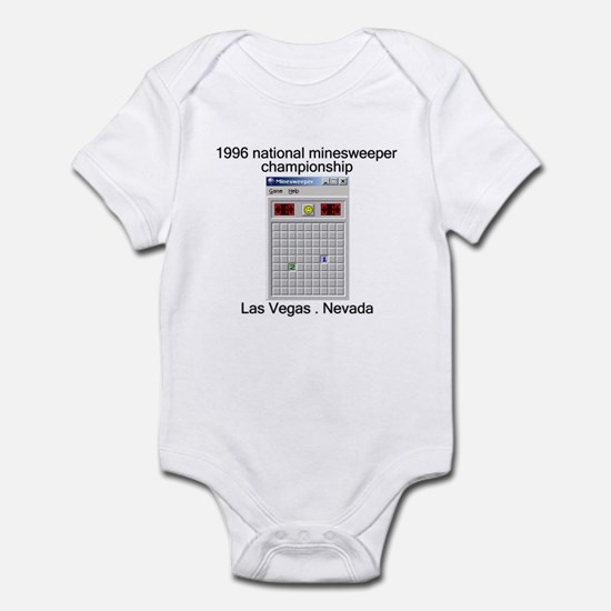 minesweeper championship Infant Bodysuit