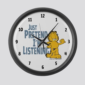 Just Pretend Large Wall Clock