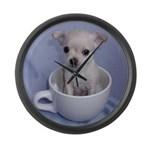 Tuff-Puppy Large Wall Clock