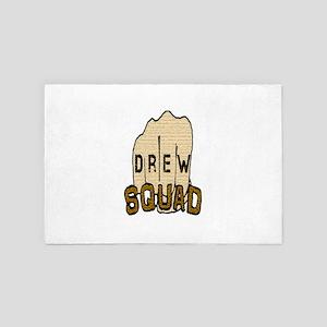 Transparent Drew Squad 4' x 6' Rug