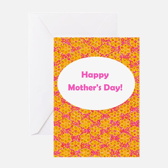 Happy Mother's Day Floral Greeting Card (O/P)