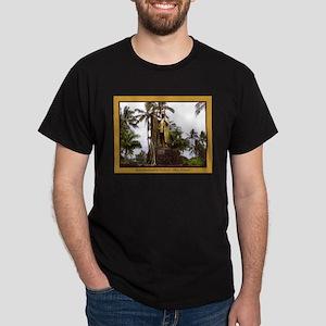 Kamehameha Statue Dark T-Shirt