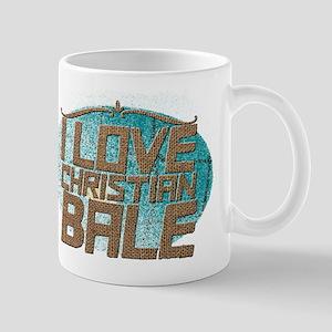 I Love Christian Bale Mugs