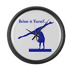 Gymnastics Clock - Believe