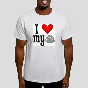 love Hemingway cat Light T-Shirt