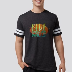 Blue skies, Red Walls T-Shirt