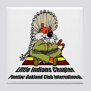 Coffee & Drinks Little Indians Tile Coaster