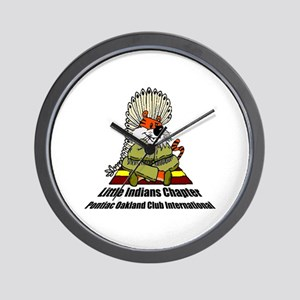 Little Indians Mascot Wall Clock