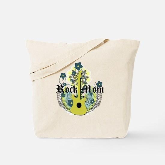 Rock Mom Tote Bag