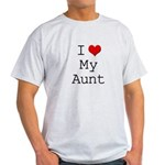 I Heart My Aunt Light T-Shirt