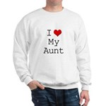 I Heart My Aunt Sweatshirt