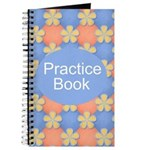 Music Practice Notebook Journal
