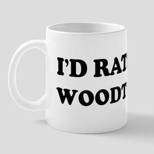 Rather be Woodturning Mug