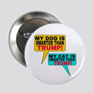 "SMARTER THAN TRUMP! 2.25"" Button"