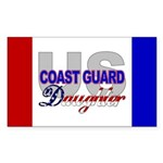 US Coast Guard Daughter Rectangle Sticker