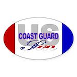 US Coast Guard Son Oval Sticker