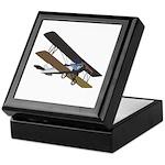 Biplane Keepsake Box