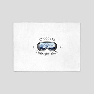 Quoggy Jo - Presque Isle - Maine 5'x7'Area Rug