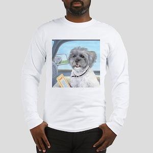Driving Riley - Shih Tzu Long Sleeve T-Shirt