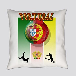 Portugal Football Soccer Everyday Pillow