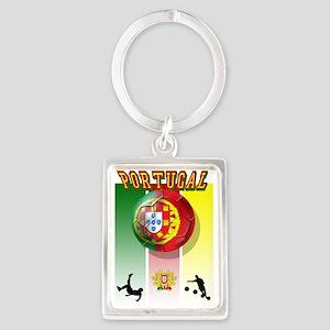 Portugal Football Soccer Keychains