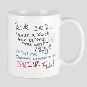 When Pigs Fly Flu Mug