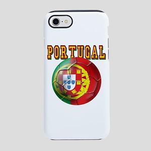 Portugal Soccer Futebol iPhone 8/7 Tough Case