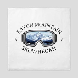 Eaton Mountain - Skowhegan - Maine Queen Duvet