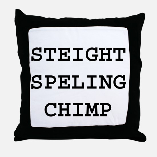 Cute Spelling Throw Pillow