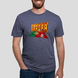 Portugal Europa Mens Tri-blend T-Shirt