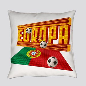 Portugal Europa Everyday Pillow