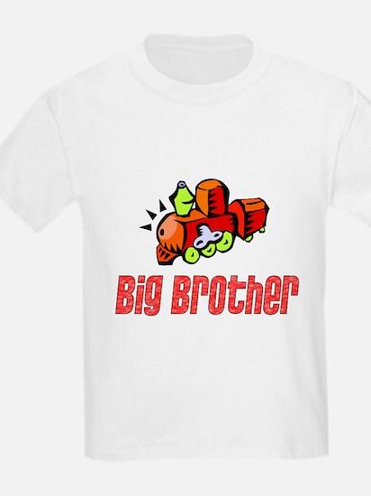 Big Brother Train Kids T-Shirt