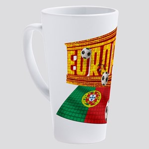 Portugal Europa 17 Oz Latte Mug