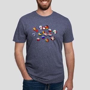 European Football Mens Tri-blend T-Shirt