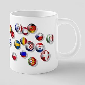 European Football 20 oz Ceramic Mega Mug
