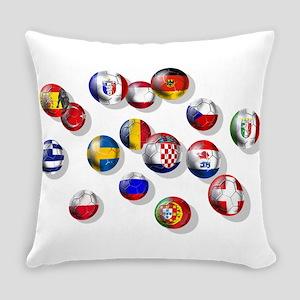 European Football Everyday Pillow