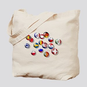 European Football Tote Bag