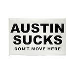 Austin Sucks Rectangle Magnet (10 pack)