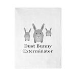 Dust Bunny Exterminator Twin Duvet Cover