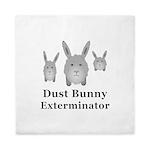 Dust Bunny Exterminator Queen Duvet