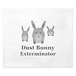 Dust Bunny Exterminator King Duvet