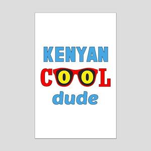 Kenyan Cool Dude Mini Poster Print