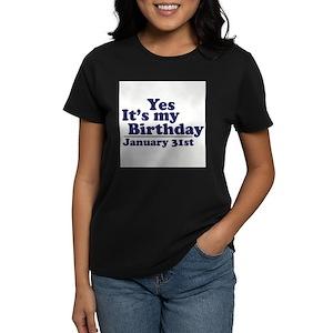 31st Birthday T Shirts