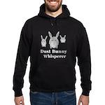 Dust Bunny Whisperer Hoodie (dark)