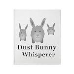Dust Bunny Whisperer Throw Blanket